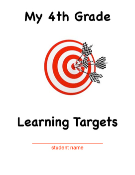 4th Grade Learning Target Cover Sheet