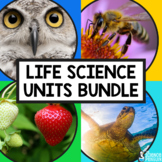 4th Grade Life Science Units GROWING BUNDLE