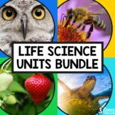 4th Grade Life Science Units Bundle