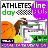 Sports Classroom Transformation - 4th Grade Line Plots