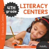 4th Grade Literacy Centers | Fourth Grade Hands-On Literacy Centers