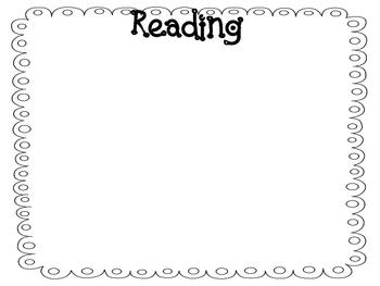 4th Grade Literacy Performance Standards Display
