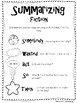 4th Grade Literature Anchor Charts and Booklets