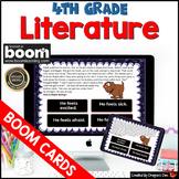 4th Grade Literature Boom Cards