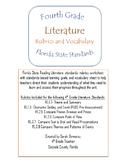 4th Grade Literature Rubrics and Learning Goals- Florida
