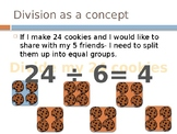4th Grade Long Division Strategies PowerPoint Lesson, Videos and Games!