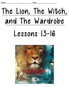4th Grade Louisiana Guidebook Narnia Lesson 13-16 Student Packet
