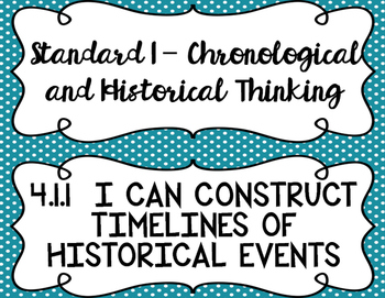 4th Grade Louisiana Social Studies State Standards I Can Statements