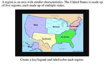4th Grade Louisiana Social Studies Unit 1 Topic 2 Regions of the ...
