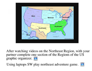 4th Grade Louisiana Social Stus Unit 1 Topic 2 Regions of the United on