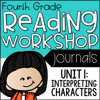 4th Grade Lucy Calkins Reading Workshop Journal, Unit 1