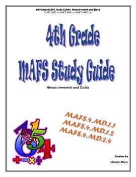 4th Grade MAFS Study Guide- Measurement and Data