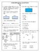 4th Grade MAFS Study Guide- Perimeter and Area