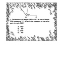 4th Grade ActivInspire 5 question Assessment-Additive/Decomposed Angles 4.MD.C.7