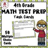 4th Grade MATH TEST PREP Task Cards