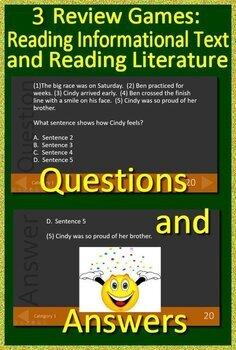 4th Grade Test Prep Reading Practice Tests for ELA Standardized Testing