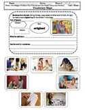 4th Grade MacGraw-Hill Reading Unit 1 Vocabulary Map, Illustration/Photographs