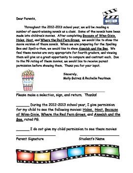 4th Grade Mailer