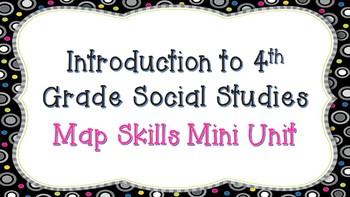4th Grade Map Skills Mini Unit
