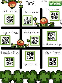 4th Grade March QR Code Printables - Low Prep!