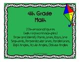 4th Grade Math 2D Shapes