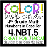 4th Grade Math 4.NBT.5 COLOR! Multi-Digit Multiplication J