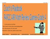 4th Grade Math AIR PARCC Review Games (Ohio Standards)