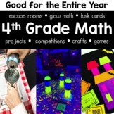 4th Grade Math Bundle for the Whole Year