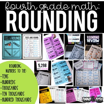 4th Grade Math Activities:  Rounding