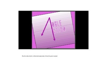 4th Grade Math: Angle Action (Powerpoint Version)
