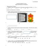 4th Grade Common Core Math Assessment [CUMULATIVE--ANSWER
