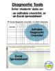 4th Grade Math Assessment - Cumulative with Diagnostics