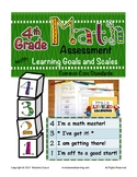 4th Grade Math Assessment with Learning Goals & Scales - A