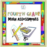 4th Grade Math Assessments | Data Tracking | Common Core Math