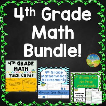 4th Grade Math BUNDLE!