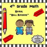 4th Grade Math Bell Ringers (Do Nows) STAAR/TEKS-aligned