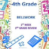 4th Grade Math Bellwork Week 1