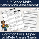 4th Grade Math Benchmark Assessment {Common Core Aligned}