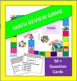 4th and 5th Grade Math Board Game - Common Core Aligned