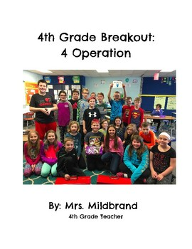 4th Grade Math Breakout: 4 Operations