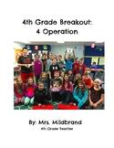 4th Grade Math Breakout: 4 Operations