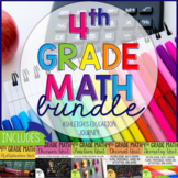 4th Grade Math Bundle - Guided Math or Math Workshop