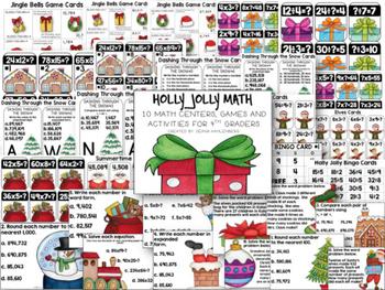 4th Grade Math Bundle #2