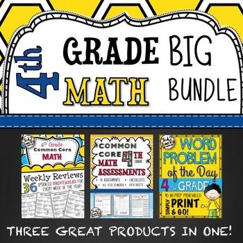 4th Grade Math Bundle