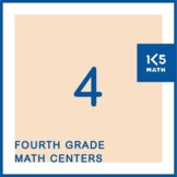 4th Grade Math Centers for the Entire School Year