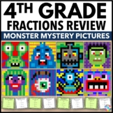 4th Grade Math Centers: 4th Grade Fraction Activities (Color by Number)