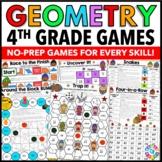 4th Grade Math Centers: 4th Grade Geometry Games {4.G.1, 4.G.2, 4.G.3, 4.MD.6}