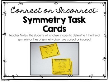 4th Grade Math Centers {Geometry}