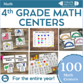 4th Grade Math Centers MEGA Bundle