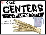 4th Grade Math Centers Measurement
